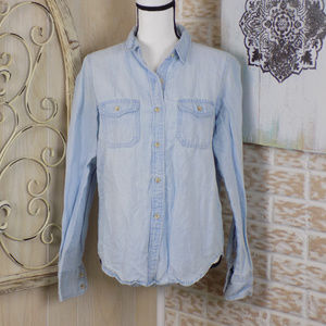 Universal Thread Light Chambray button down